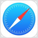 Ikona aplikacije Safari.