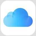 iCloudDrive आइकॉन।