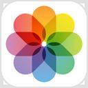O ícone da app Fotografias.