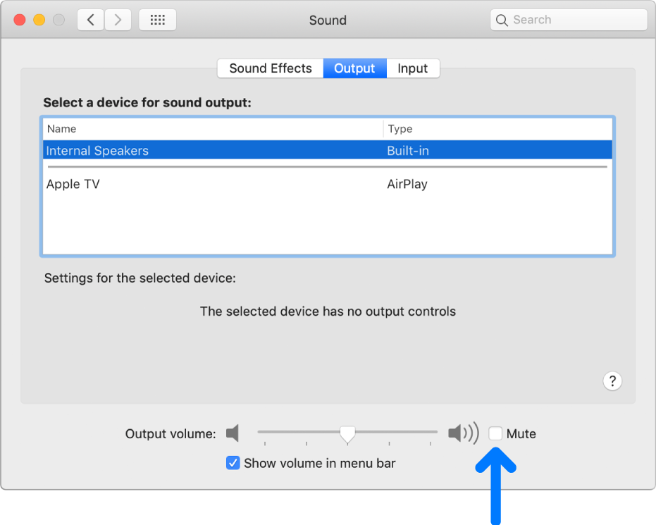 If You Can T Hear Sound From Your Mac Speakers Apple Support