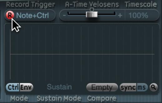 Figure. R(ecord) button.