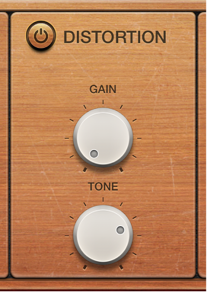 Figure. Vintage Clav Distortion parameters.