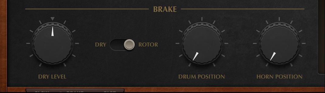 Figure. Vintage B3 Rotor Cabinet Brake parameters.