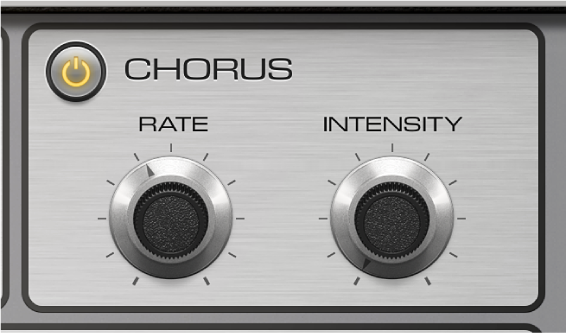 Figure. Vintage Electric Piano Chorus parameters.