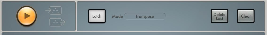 Figure. Arpeggiator Control parameters.