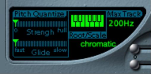 Figure. Tracking Oscillator Pitch parameters.