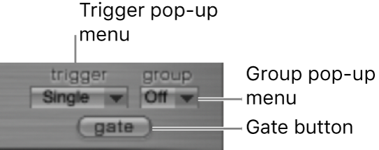Figure. Trigger Mode section.