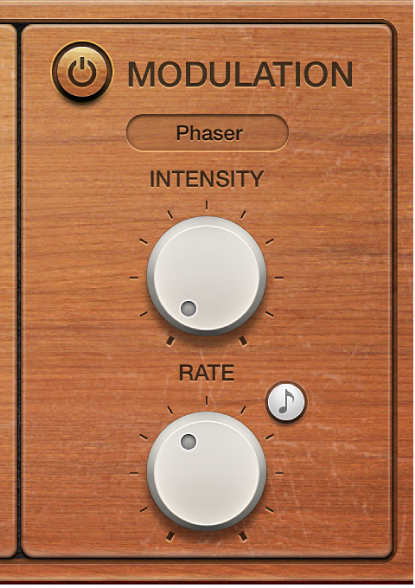 Figure. Vintage Clav Modulation effect parameters.