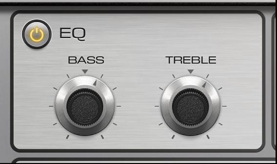 Figure. Vintage Electric Piano Equalizer parameters.