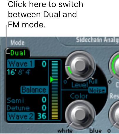 Figure. Oscillator parameters.
