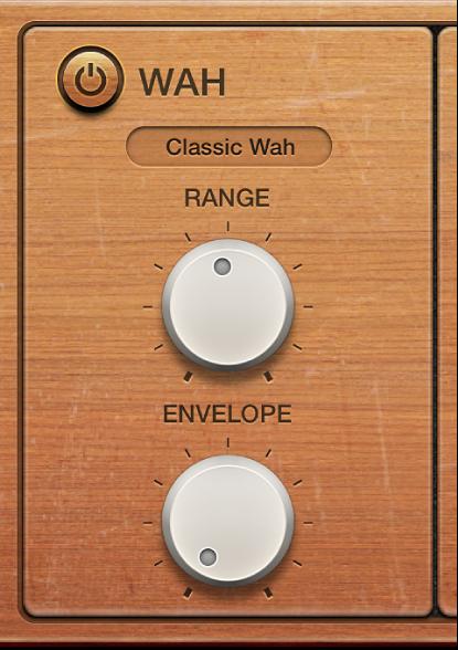 Figure. Vintage Clav Wah parameters.