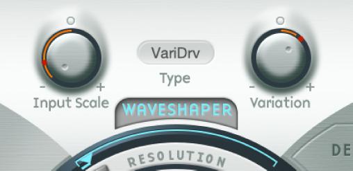 Figure. Waveshaper parameters.