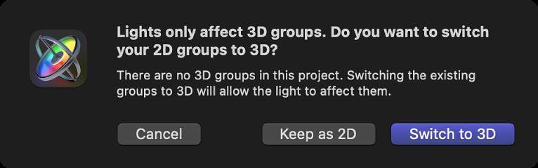 Wechseln zur 3D-Darstellung
