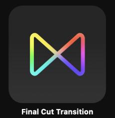 Final Cut-Übergang-Symbol in der Projektübersicht