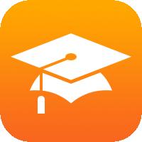 het iTunesU-symbool