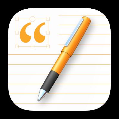 O ícone da aplicação Pages.