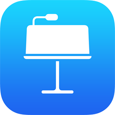 O ícone da aplicação Keynote