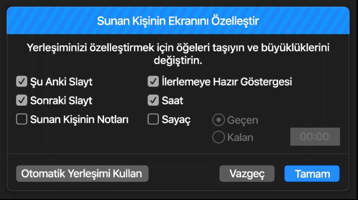 Sunan Kişi Ekranı sorgu kutusunu özelleştirme.