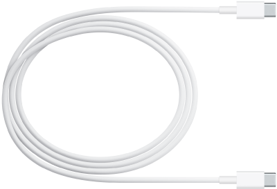 The AC power cord, which extends the reach of the power adapter.