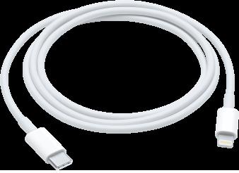 USB-C - Lightningケーブル。
