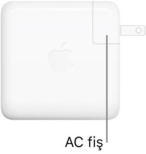 61W veya 96W USB-C Güç Adaptörü.