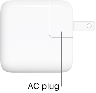 The 30W USB-C Power Adapter.