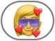the Memoji Stickers button