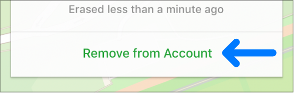 The Remove from Account button.