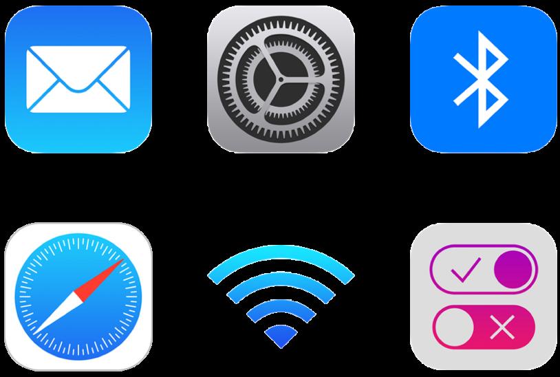 Använd konfigurationsprofiler till att hantera iPhone- och iPad-enheter.