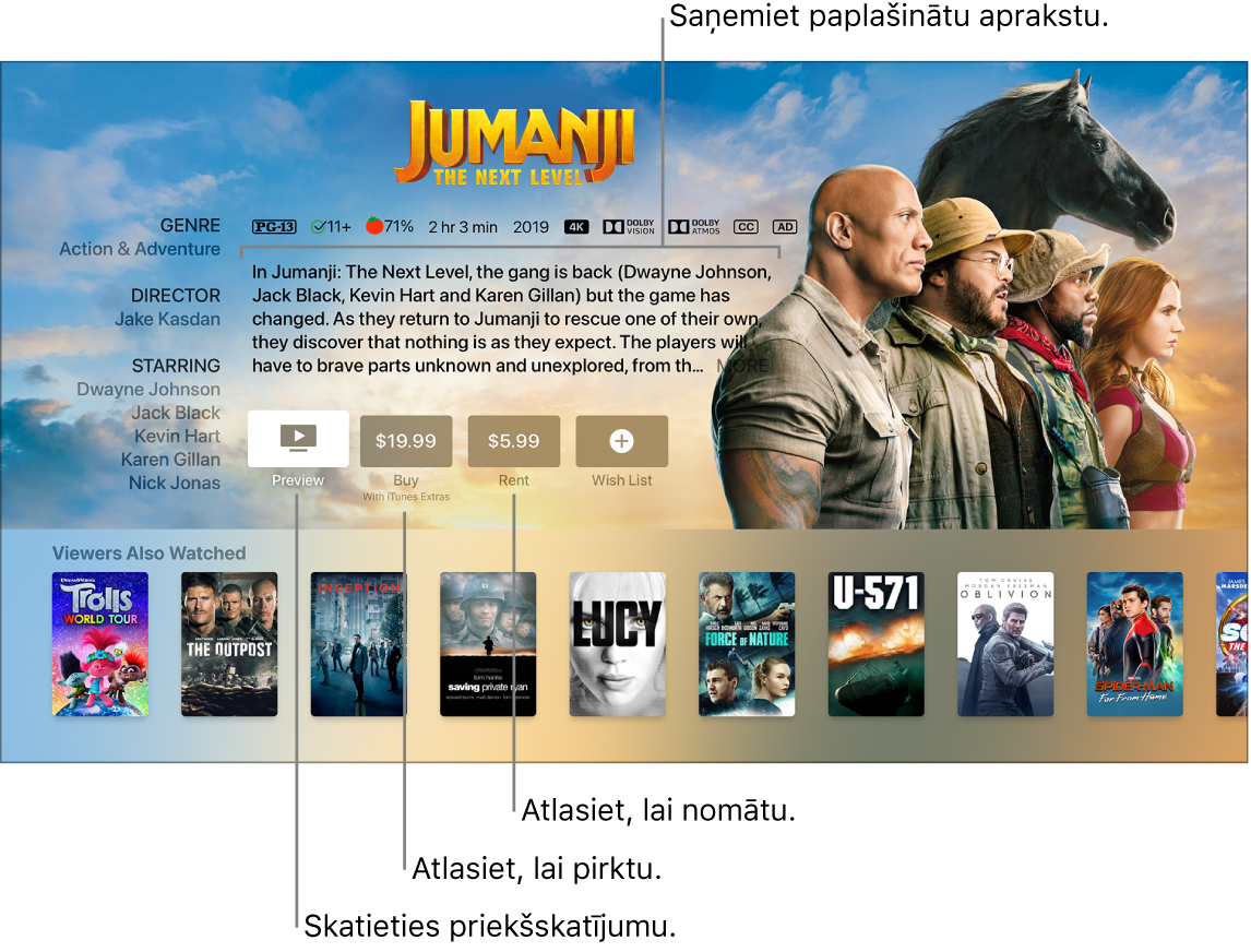Filmas informācijas ekrāns