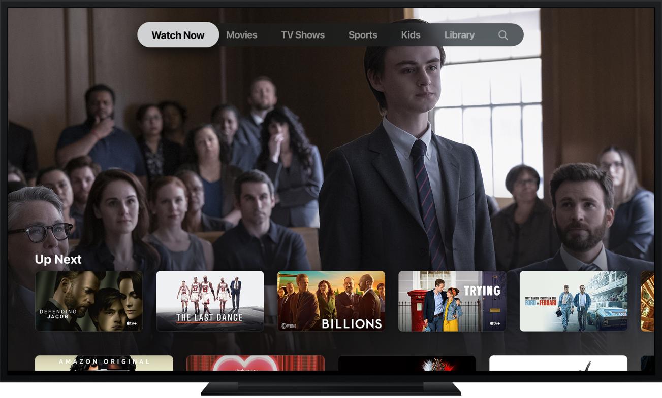 En Apple TV