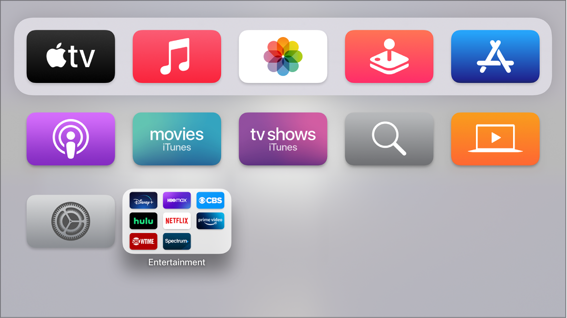 Hjem-skjermen i lys modus