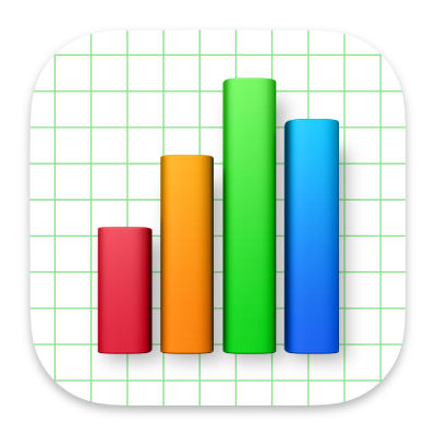 "Das Symbol der App ""Numbers"""