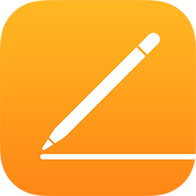 Ikona aplikacji Pages