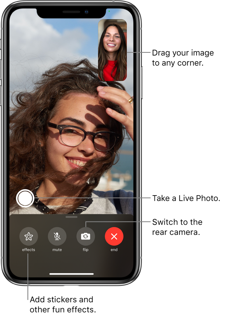 Make and receive FaceTime calls on iPhone - Apple Support