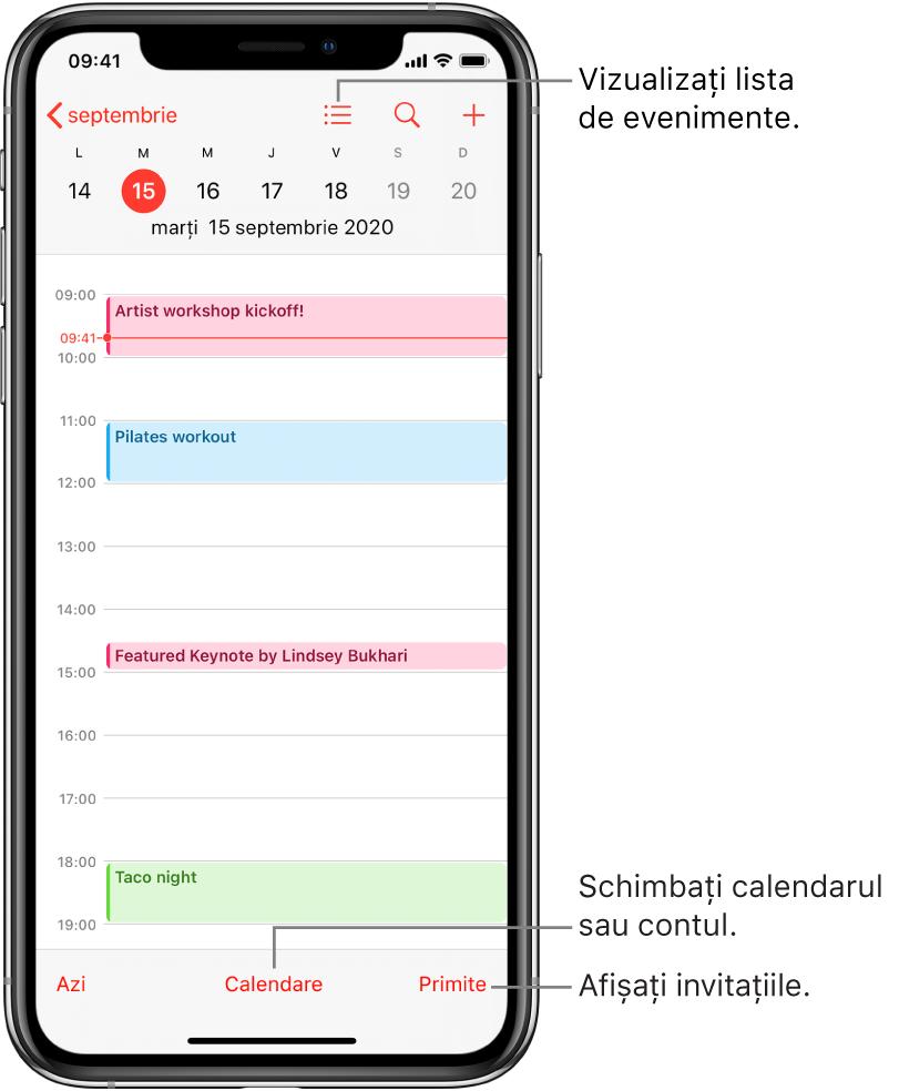 calendarul opțiunii
