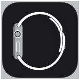 het symbool van de AppleWatch-app