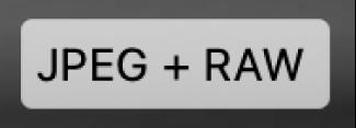 Pastille JPEG + RAW
