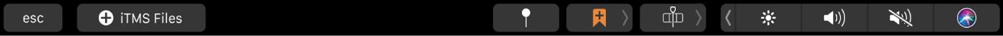 Conjunto de botones iTMS