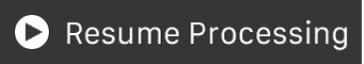"""Botón """"Reanudar procesamiento"""" de la Touch Bar"""