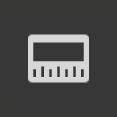 Die dritte Taste für die Clipdarstellung von links zur Darstellung gleichgroßer Audiowellenformen und Filmstreifen