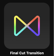 Final Cut Transition icon in Project Browser