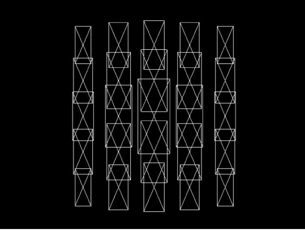 Canevas affichant un réplicateur en mode d'aperçu Fil de fer