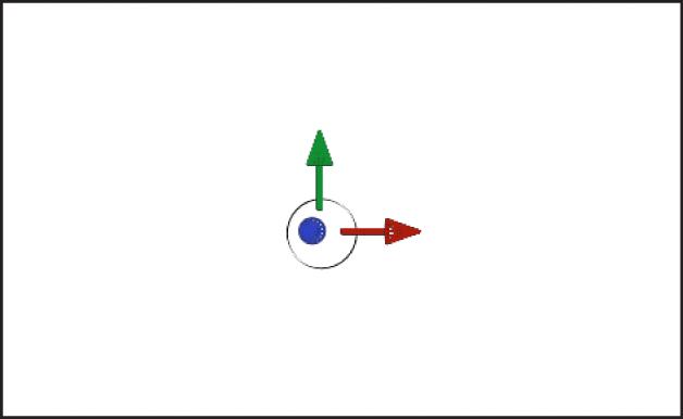Commande à l'écran de l'outil Transformation3D dans le canevas