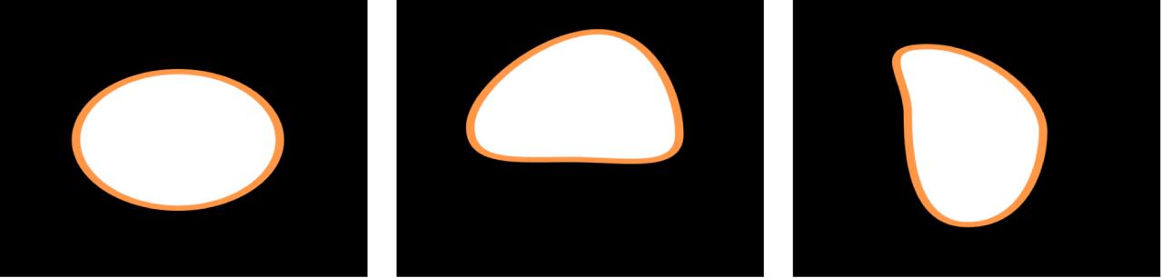 Canevas affichant une forme avec le comportement Agiter la forme qui lui est appliqué