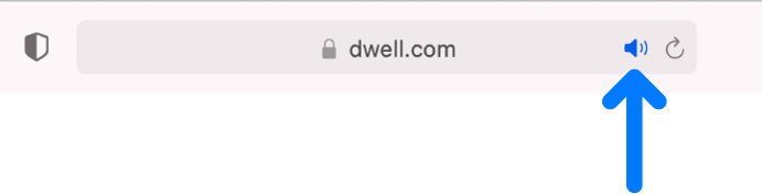 「智慧型搜尋」欄位的右側帶有音訊按鈕。