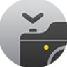 Symbool Camera-afstandsbediening