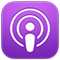 "Symbol der App ""Podcasts"""