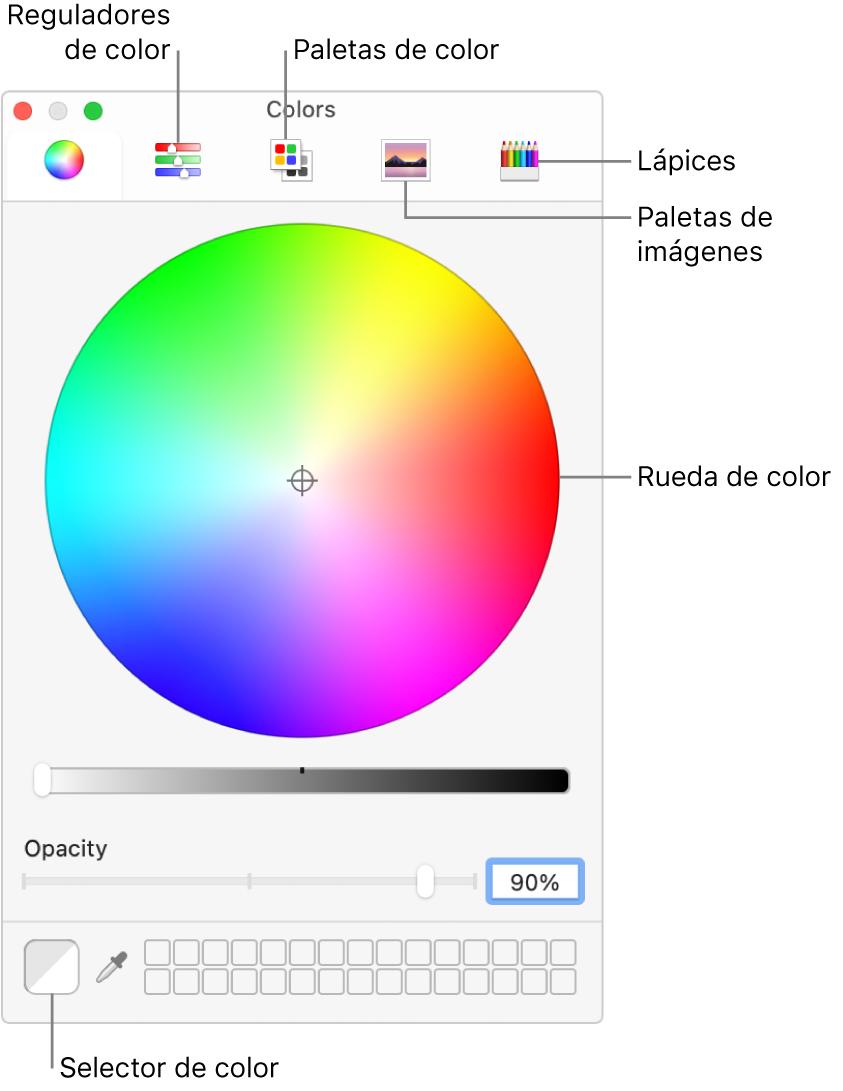 Usar Colores En Los Documentos En El Mac Soporte Técnico De Apple