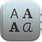 Icono de Catálogo Tipográfico